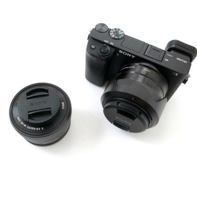 α6400とカメラレンズ