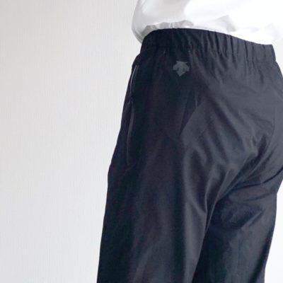 パンツのロゴ部分
