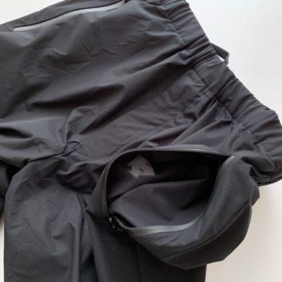 パンツのパッカブルするポケット