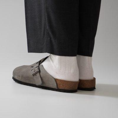 ビルケンボストンを靴下と合わせて