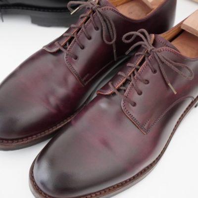 MOTOコードバンと紗乃織靴紐