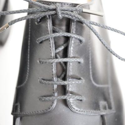 靴紐の通し方、パラレル