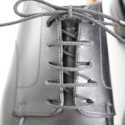 靴紐の通し方、シングル