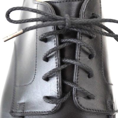 靴紐の通し方、アンダーラップ