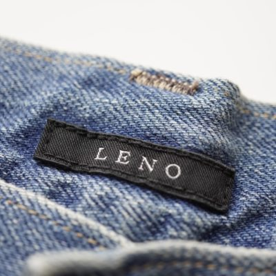 lenoのブランドタグの色