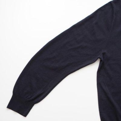 袖のカーブ