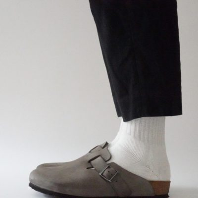 wigwam靴下の着画