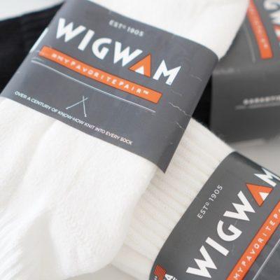 wigwamのソックスまとめ買い