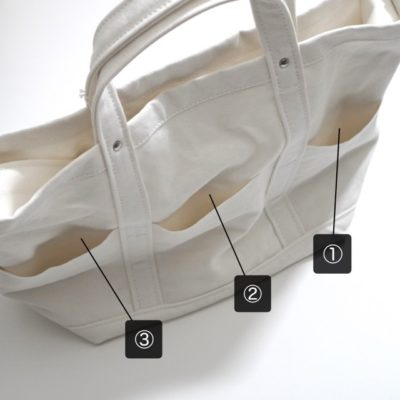 YAECAツールバッグのポケット