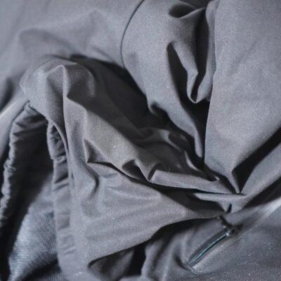 パカブルウェアの皺
