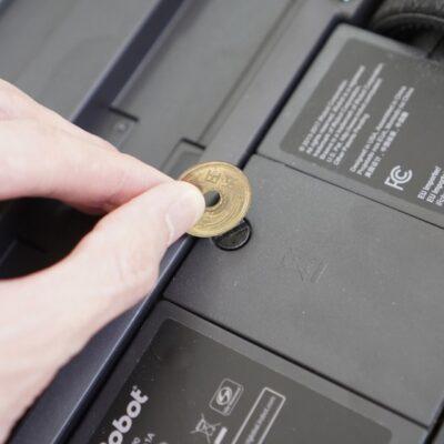 ブラーバのバッテリーを5円で開ける