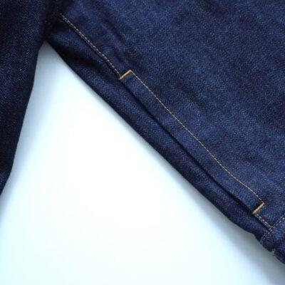 デニムジャケットのポケット
