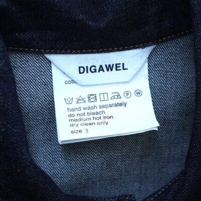 デニムジャケットの洗濯タグ