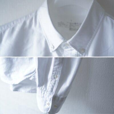 襟、袖の仕上がり
