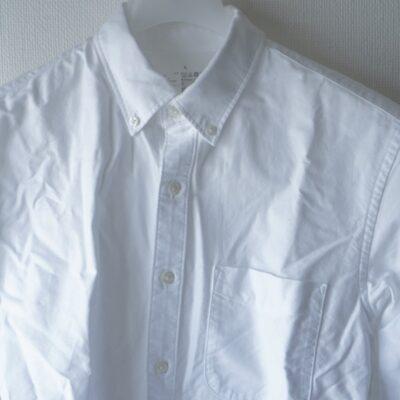無印良品のシワシワのシャツ
