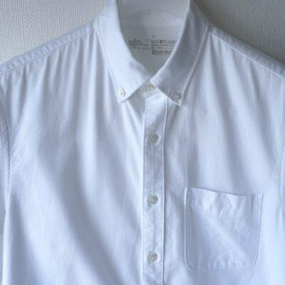 スチーム後のシャツの仕上がり
