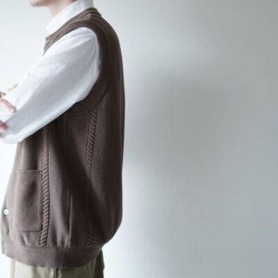 YASHIKIの編み柄の特徴