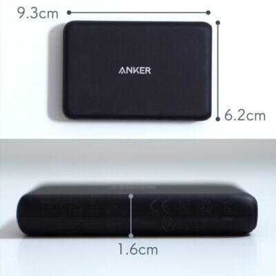 ANKER Magsafeモバイルバッテリーのサイズ
