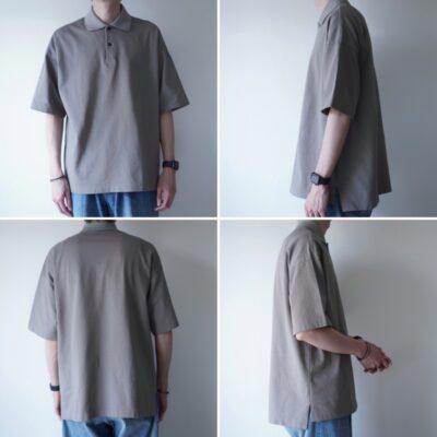 markaポロシャツの着画