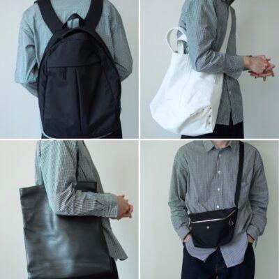 バッグの着画