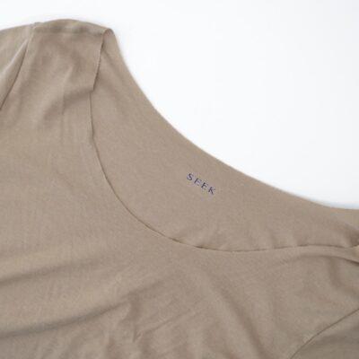 Tシャツ用インナー、SEEKのボートネック