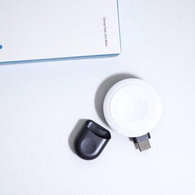 AnkerAppleWatch充電器はキャップが付属する