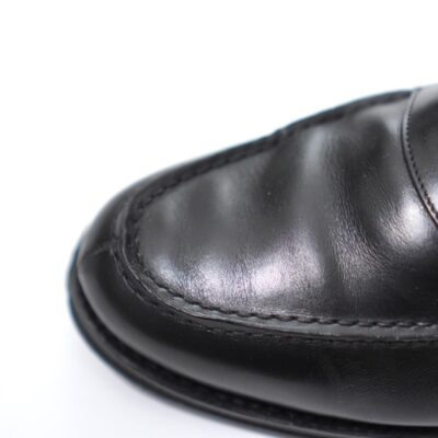 ローファーの履き皺