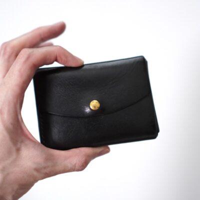 財布にもコロニルを塗る