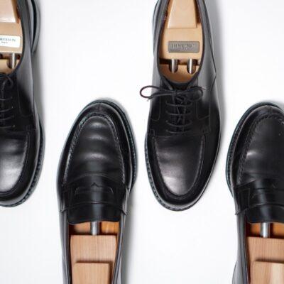 革靴にもコロニルを塗る