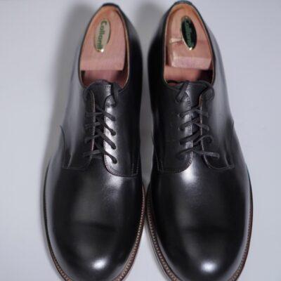 formeの革靴シワ入れ前の状態