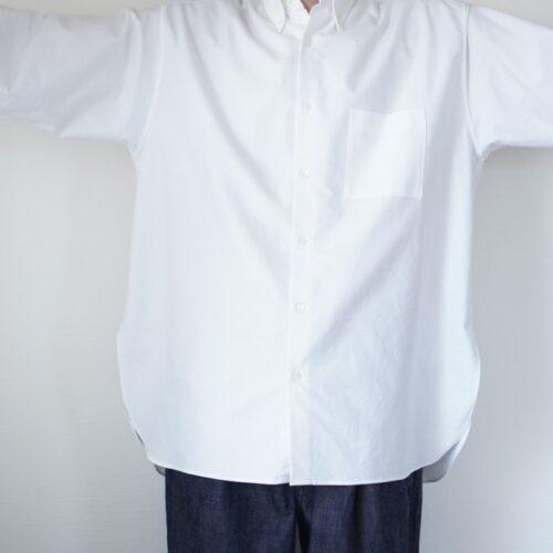 コンフォートフィットシャツの身幅