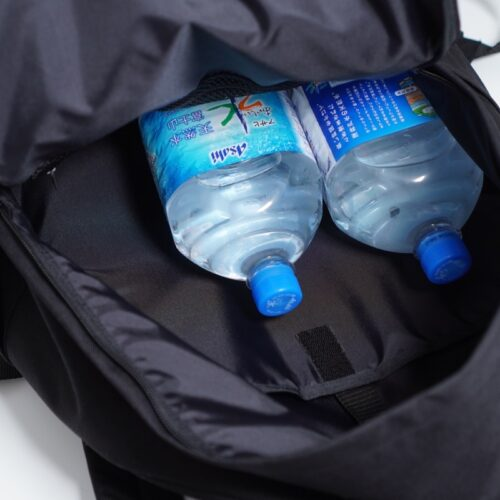 デイパックMOに2ℓペットボトルを収納