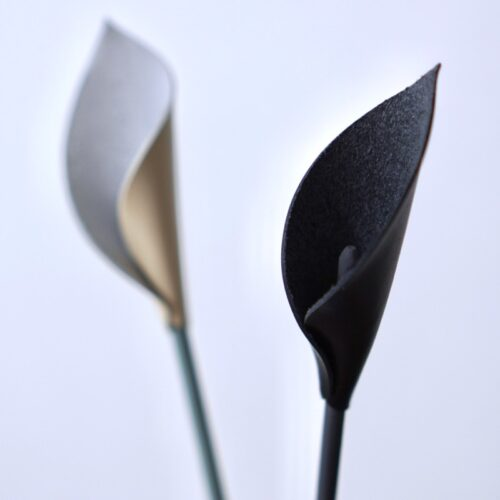Leather Flower Callaの造形