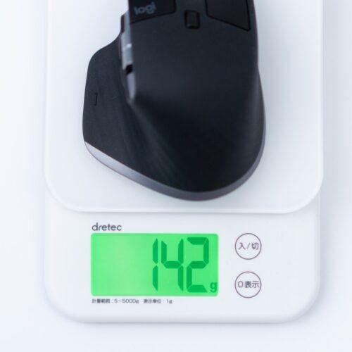 MX Master 3 for Macの重量