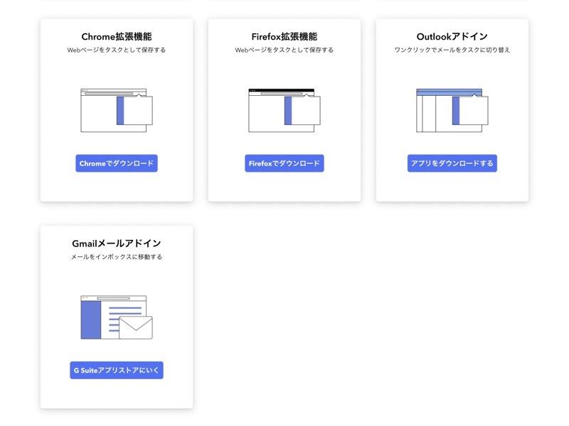 TickTickの対応機能の画像